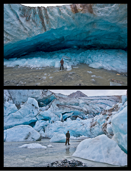 Before/After Ice-Arch collapse